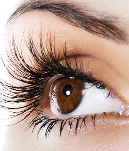 TINTING AND EYELASH EXTENSIONS