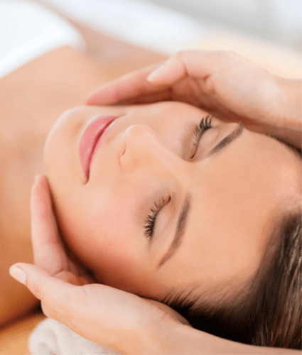 FACIAL LYMPHATICS MASSAGE